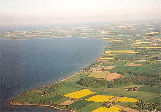 Die Geltinger Bucht  im Monat Mai