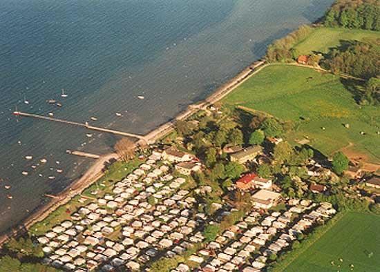Steinberghaff mit seinem großen Campingplatz